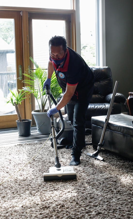 Carpet Cleaning by Mango Maids in Edmonton & Calgary